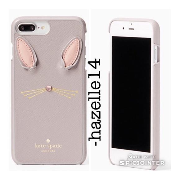 the best attitude 774e4 f3480 Kate Spade Bunny Applique iPhone 7/8 Plus Case